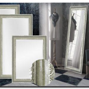 Elegante Spiegel Leonardo Zilver