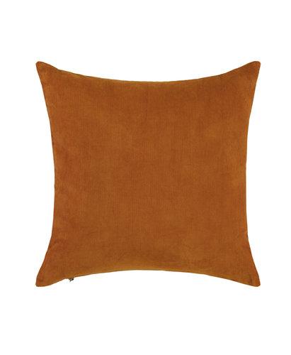 Essenza Essenza sierkussen Riv 45x45 leather-brown