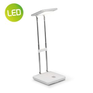 Home sweet home LED bureaulamp Check ↕ 31,5 cm - wit