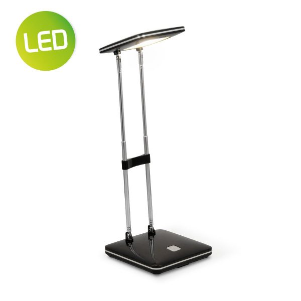 Home sweet home LED bureaulamp Check ↕ 31,5 cm - zwart