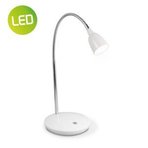 Home sweet home LED bureaulamp Flexy ↕ 41,5 cm - wit