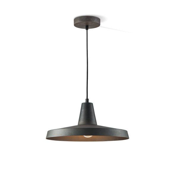Home sweet home hanglamp Borax 30 - burned-metal metaal