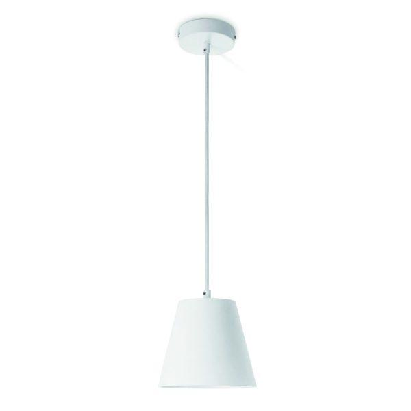Home sweet home hanglamp Clocks Ø 18 cm - wit