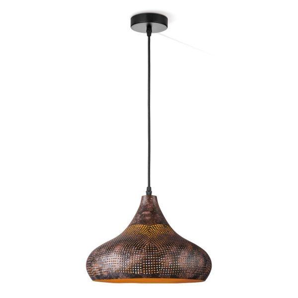 Home sweet home hanglamp Rusty B Ø 30 cm - bruin