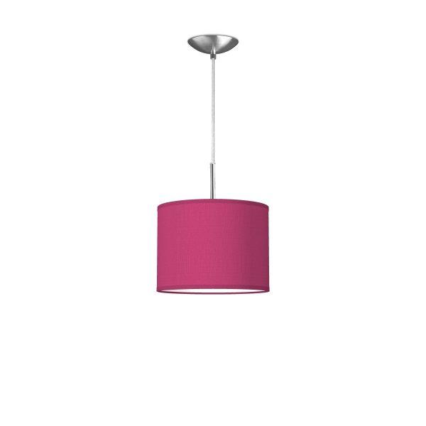 Home sweet home hanglamp tube deluxe bling Ø 25 cm - roze