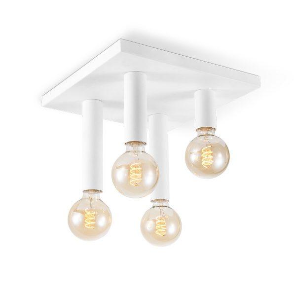 Home sweet home plafondlamp Drip 4 lichts - wit