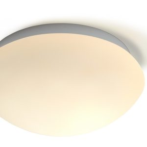 Home sweet home plafondlamp Frost 28 rond - IP44 mat glas