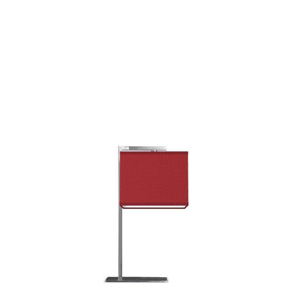 Home sweet home tafellamp Block ↕ 44 cm - mat staal