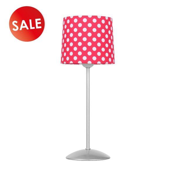 Home sweet home tafellamp Dot ↕ 35 cm - rood