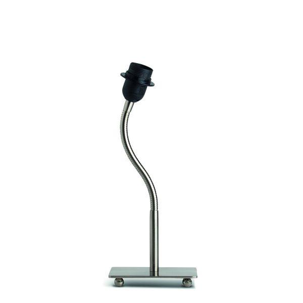Home sweet home tafellamp Flex ↕ 38 cm - mat staal