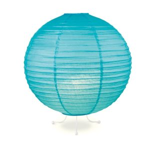 Home sweet home tafellamp Lampion Ø 40 cm - blauw