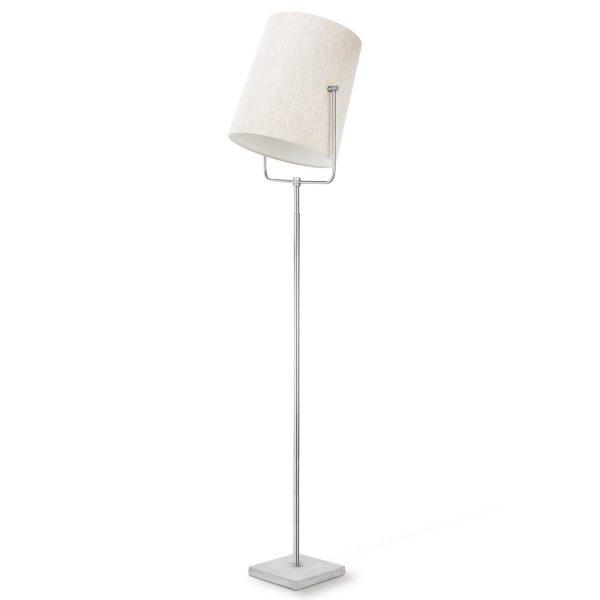 Home sweet home vloerlamp Bird ↕ 175 cm - mat staal