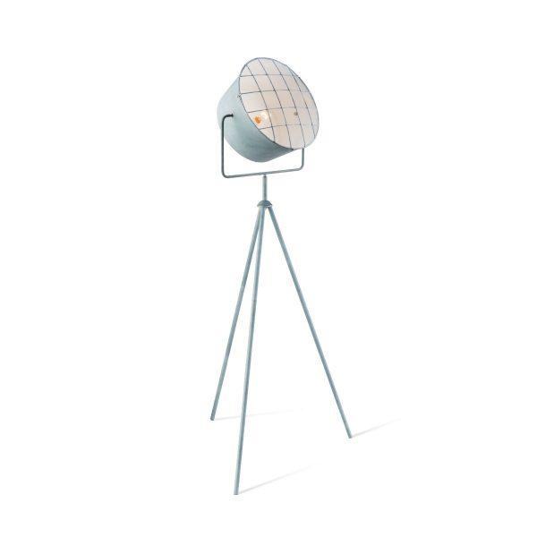 Home sweet home vloerlamp Clemento - betongrijs
