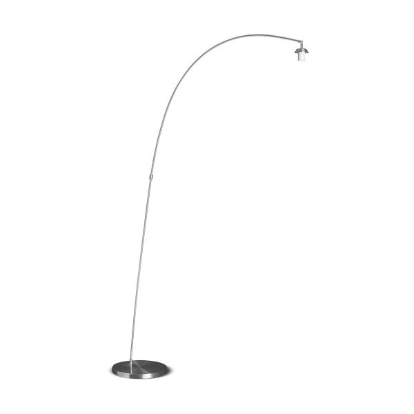 Home sweet home vloerlamp Tong ↕ 190 cm - mat staal