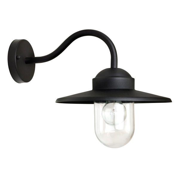 KS Verlichting buiten wandlamp Dolce - zwart staal