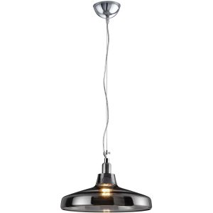 LED Hanglamp - Hangverlichting - Trion Dovino - E27 Fitting - Rond - Mat Grijs - Aluminium