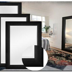 Moderne Spiegel Enzo Zwart