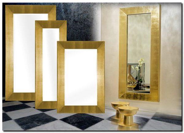 Moderne Spiegel Romano Goud