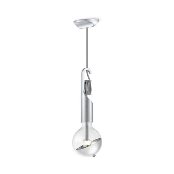 Move Me hanglamp Twist - grijs