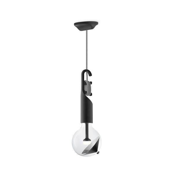 Move Me hanglamp Twist - zwart