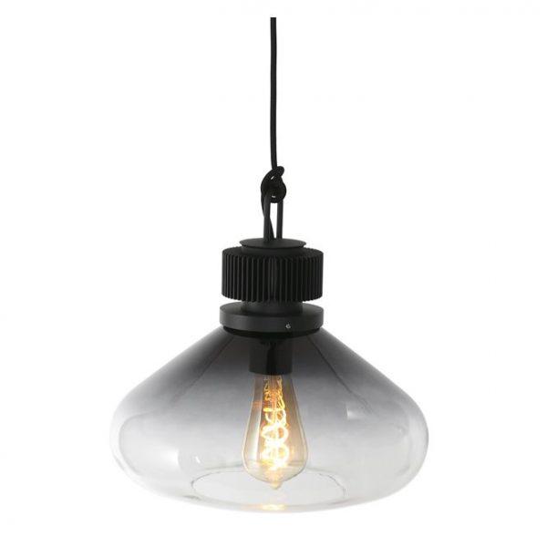 Steinhauer hanglamp Flere 1 lichts 30 cm - smoke glas