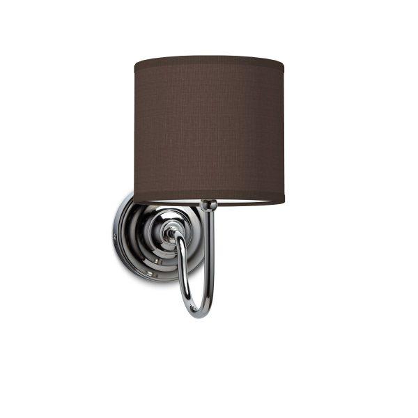 Wandlamp lilly bling Ø 16 cm - bruin