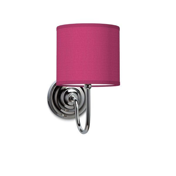 Wandlamp lilly bling Ø 16 cm - roze