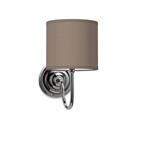 Wandlamp lilly bling Ø 16 cm - taupe