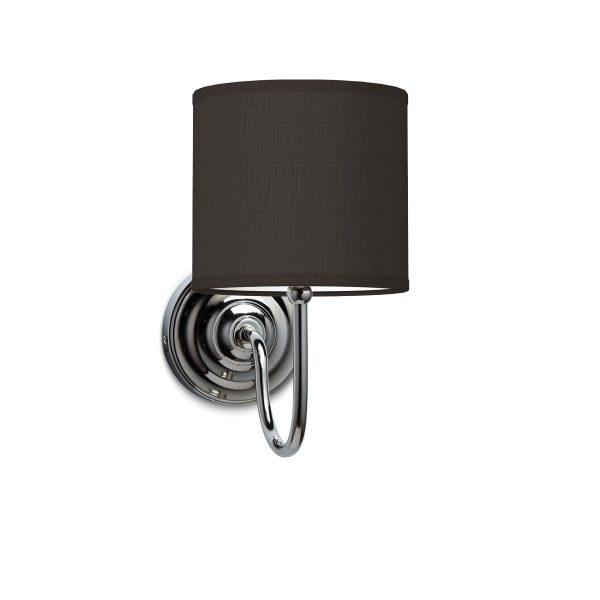 Wandlamp lilly bling Ø 16 cm - zwart