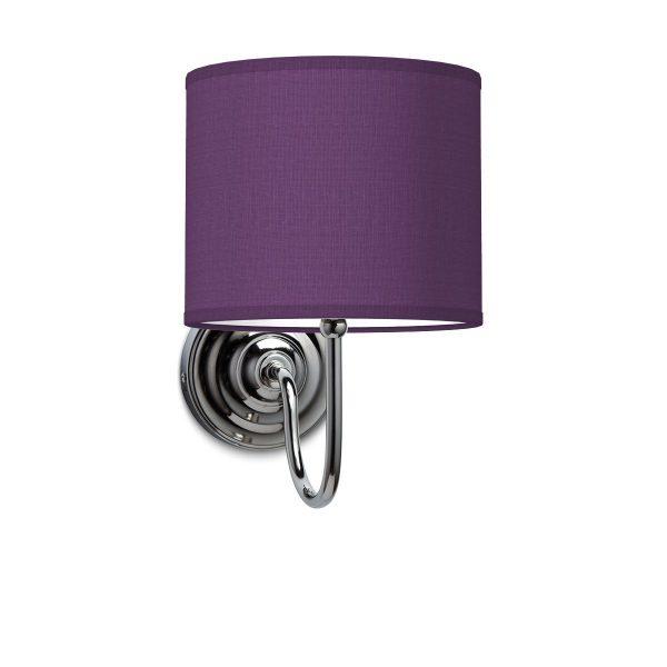 Wandlamp lilly bling Ø 20 cm - paars