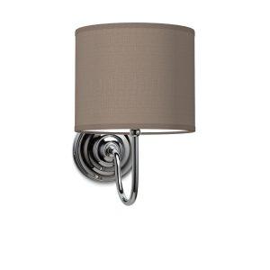 Wandlamp lilly bling Ø 20 cm - taupe