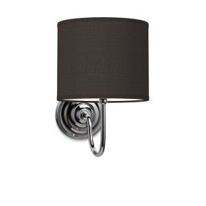 Wandlamp lilly bling Ø 20 cm - zwart
