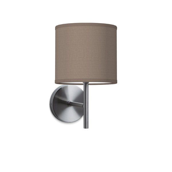 Wandlamp mati bling Ø 16 cm - taupe