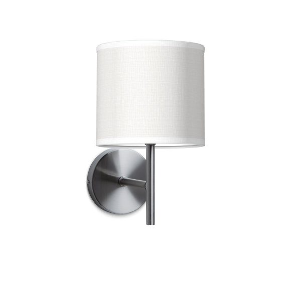 Wandlamp mati bling Ø 16 cm - wit