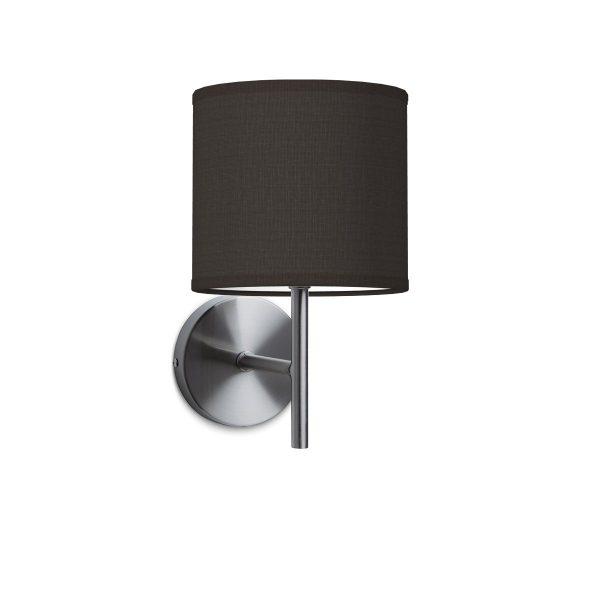 Wandlamp mati bling Ø 16 cm - zwart