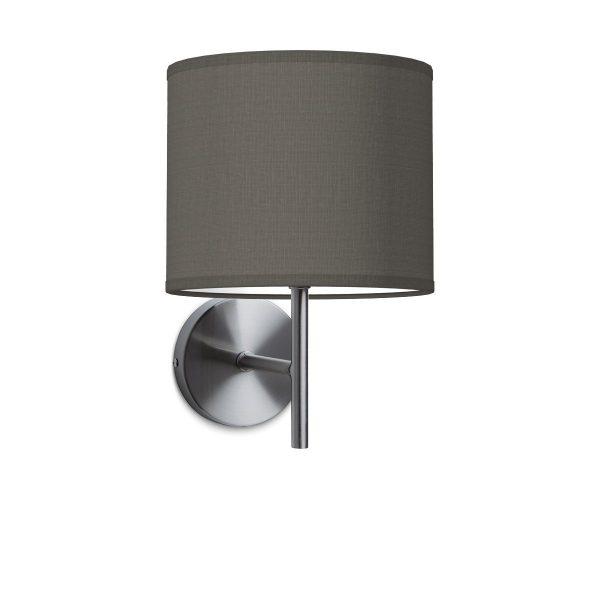 Wandlamp mati bling Ø 20 cm - antraciet