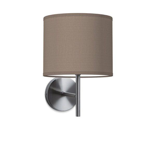 Wandlamp mati bling Ø 20 cm - taupe