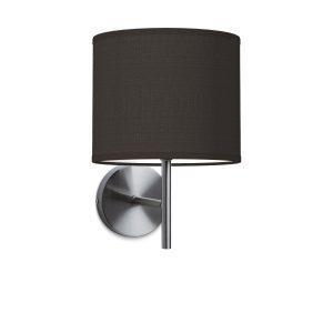 Wandlamp mati bling Ø 20 cm - zwart