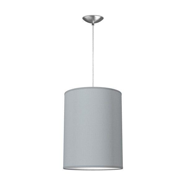 hanglamp Basic Tube Ø 30 cm - lichtgrijs