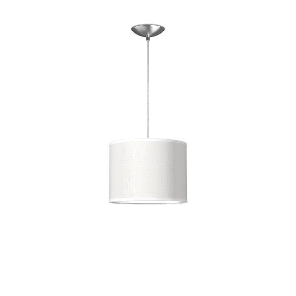 hanglamp basic bling Ø 25 cm - wit