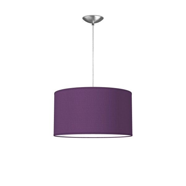 hanglamp basic bling Ø 40 cm - paars