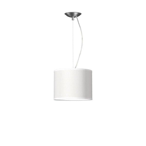 hanglamp basic deluxe bling Ø 25 cm - wit