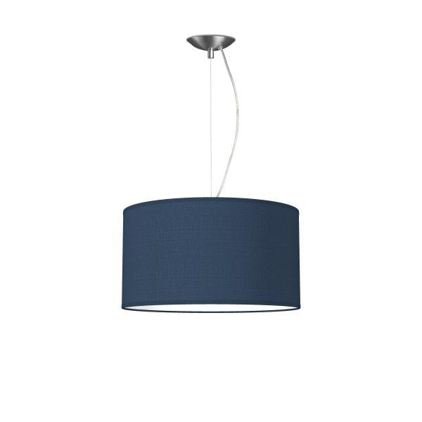 hanglamp basic deluxe bling Ø 40 cm - blauw