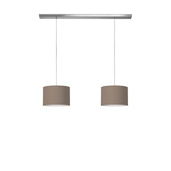 hanglamp beam 2 bling Ø 30 cm - taupe