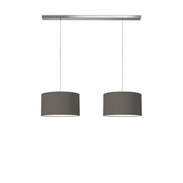 hanglamp beam 2 bling Ø 40 cm - antraciet