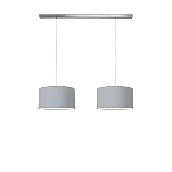 hanglamp beam 2 bling Ø 40 cm - lichtgrijs