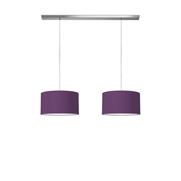 hanglamp beam 2 bling Ø 40 cm - paars