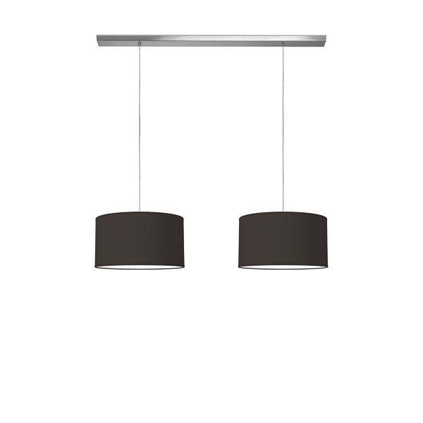 hanglamp beam 2 bling Ø 40 cm - zwart
