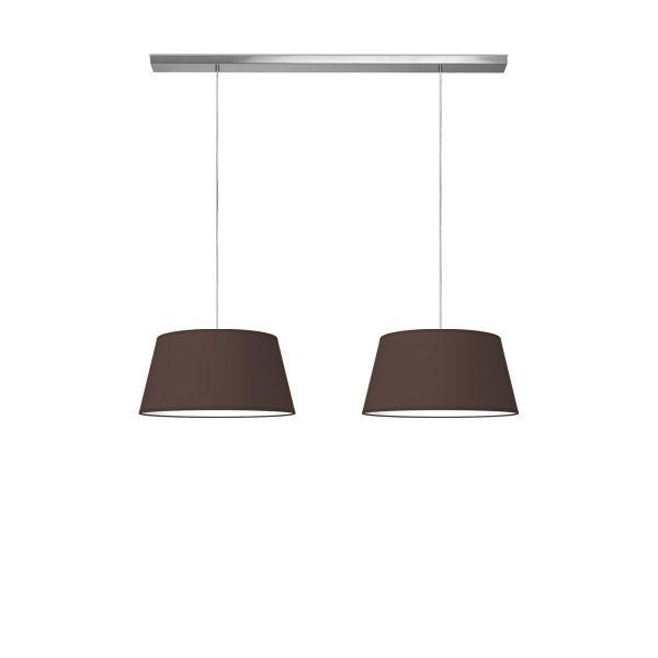 hanglamp beam 2 vino Ø 45 cm - bruin