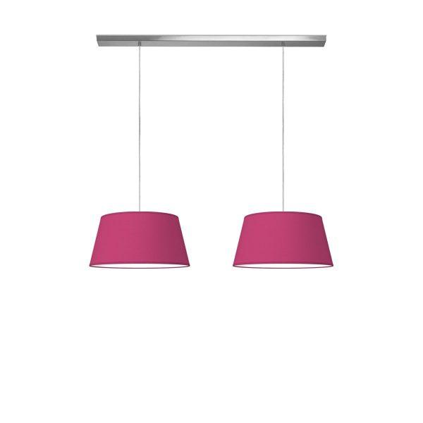 hanglamp beam 2 vino Ø 45 cm - roze